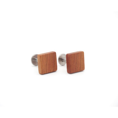 Manschettenknöpfe aus Holz Zwetschge