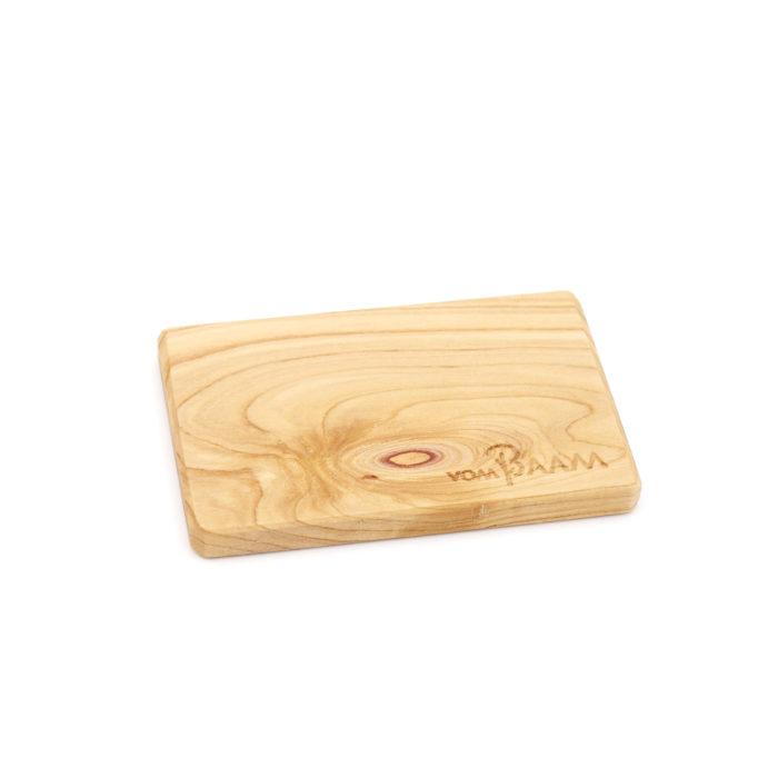 Gürtelschnalle aus Holz Flieder